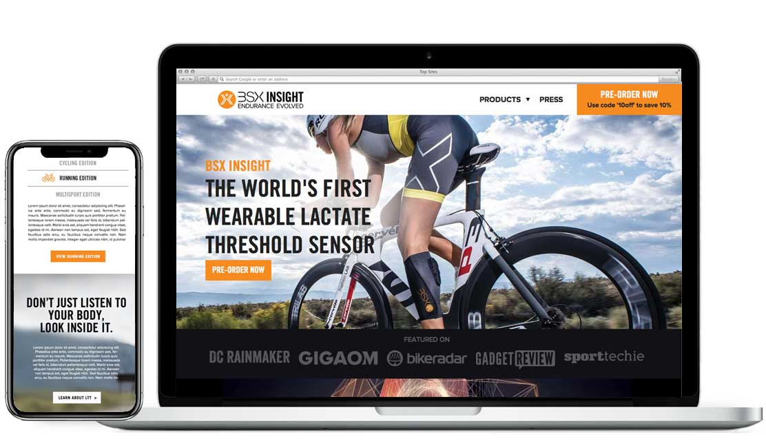 endurance sports digital product designers