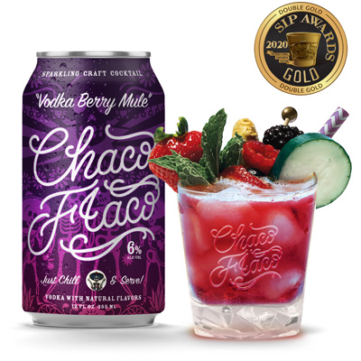 chaco flaco beverage label designs