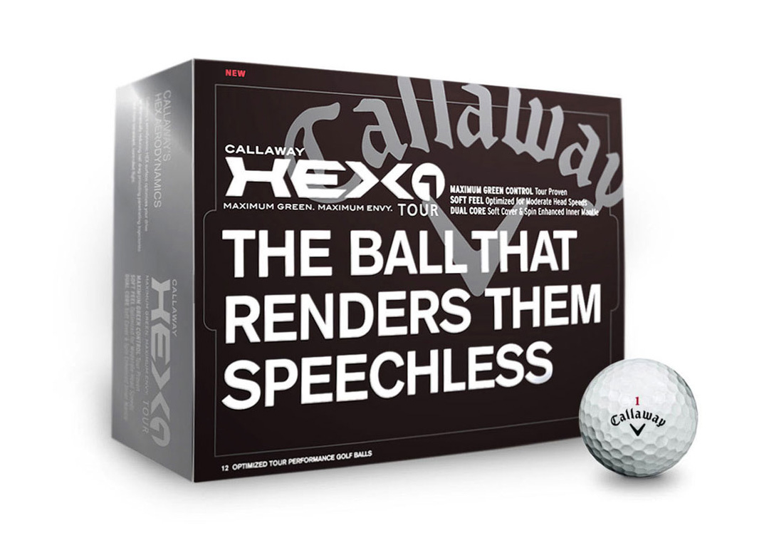 Callaway Golf Balls box packaging examples
