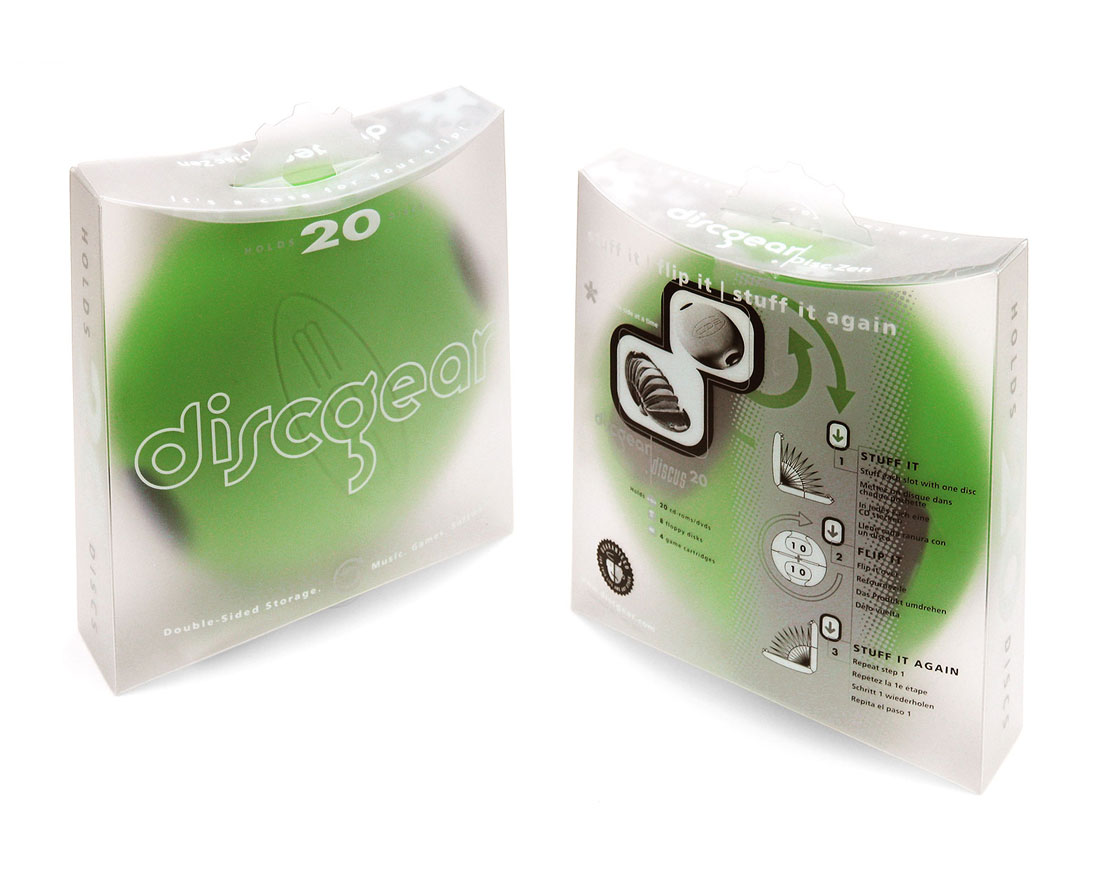 discgear product packaging design agency orange county